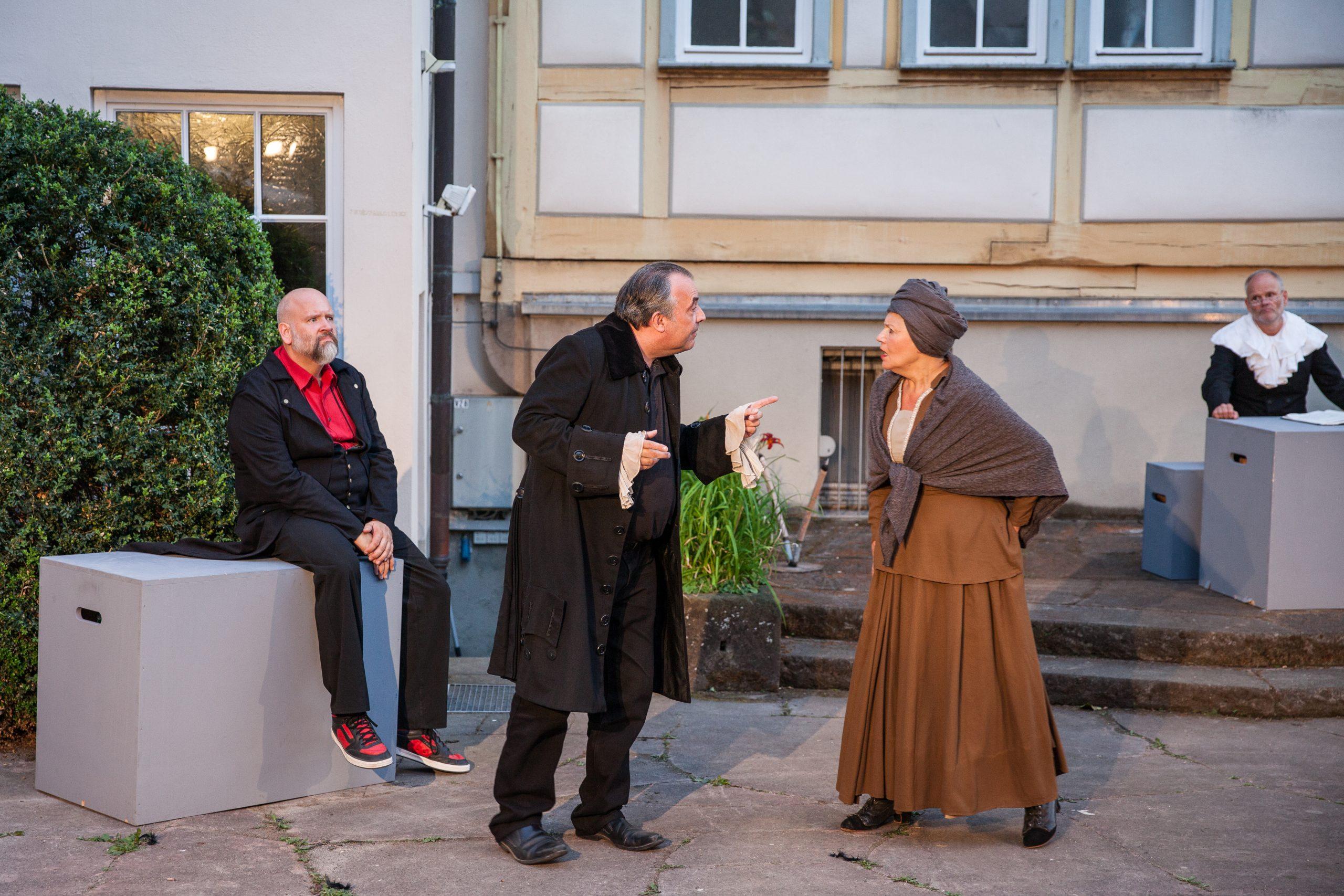 Theateraufführung in der Altstadt
