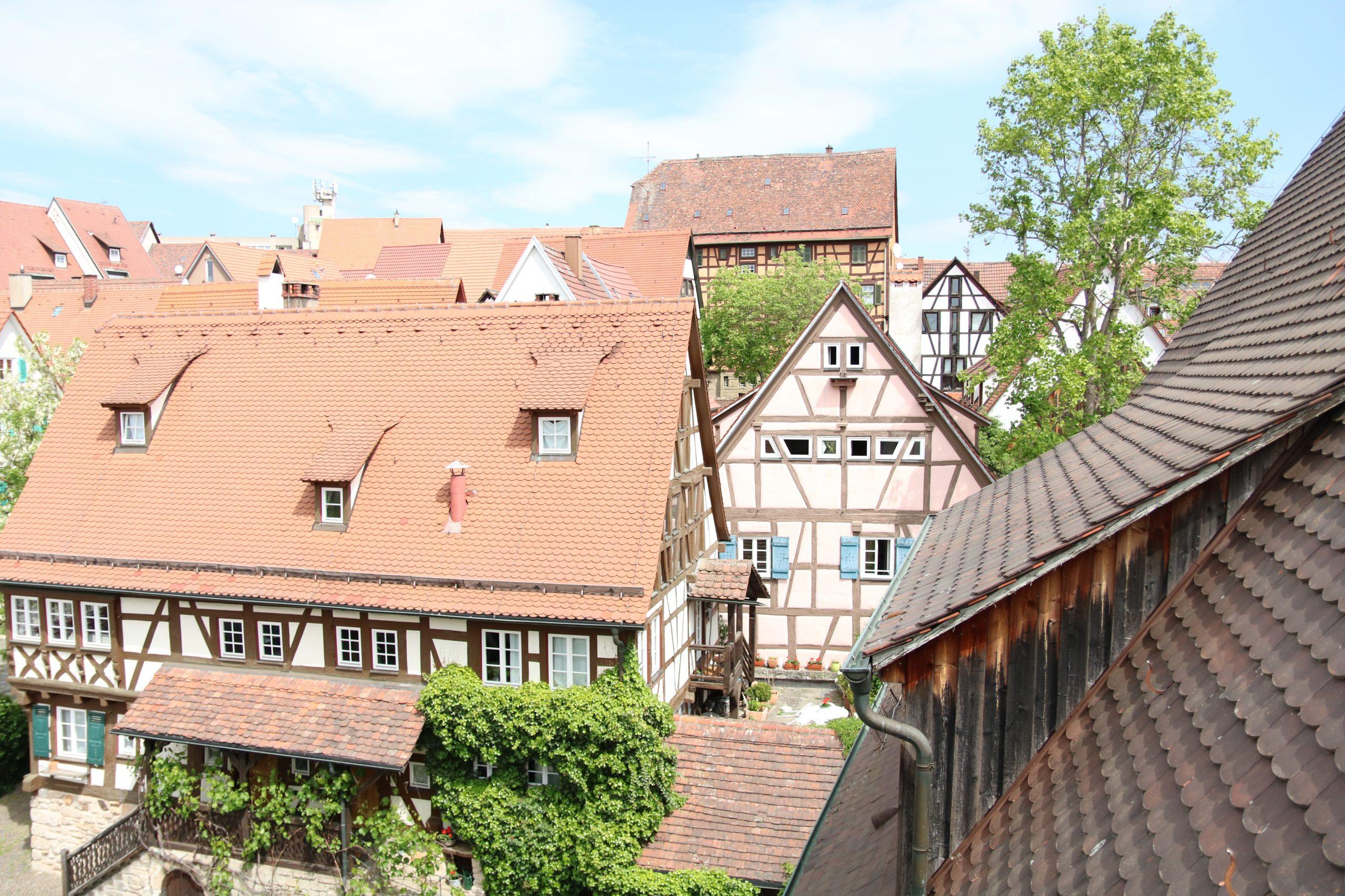Fachwerkhäuser in der Sindelfinger Altstadt