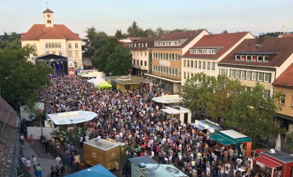 Sindelfinger Veranstaltung auf dem Marktplatz