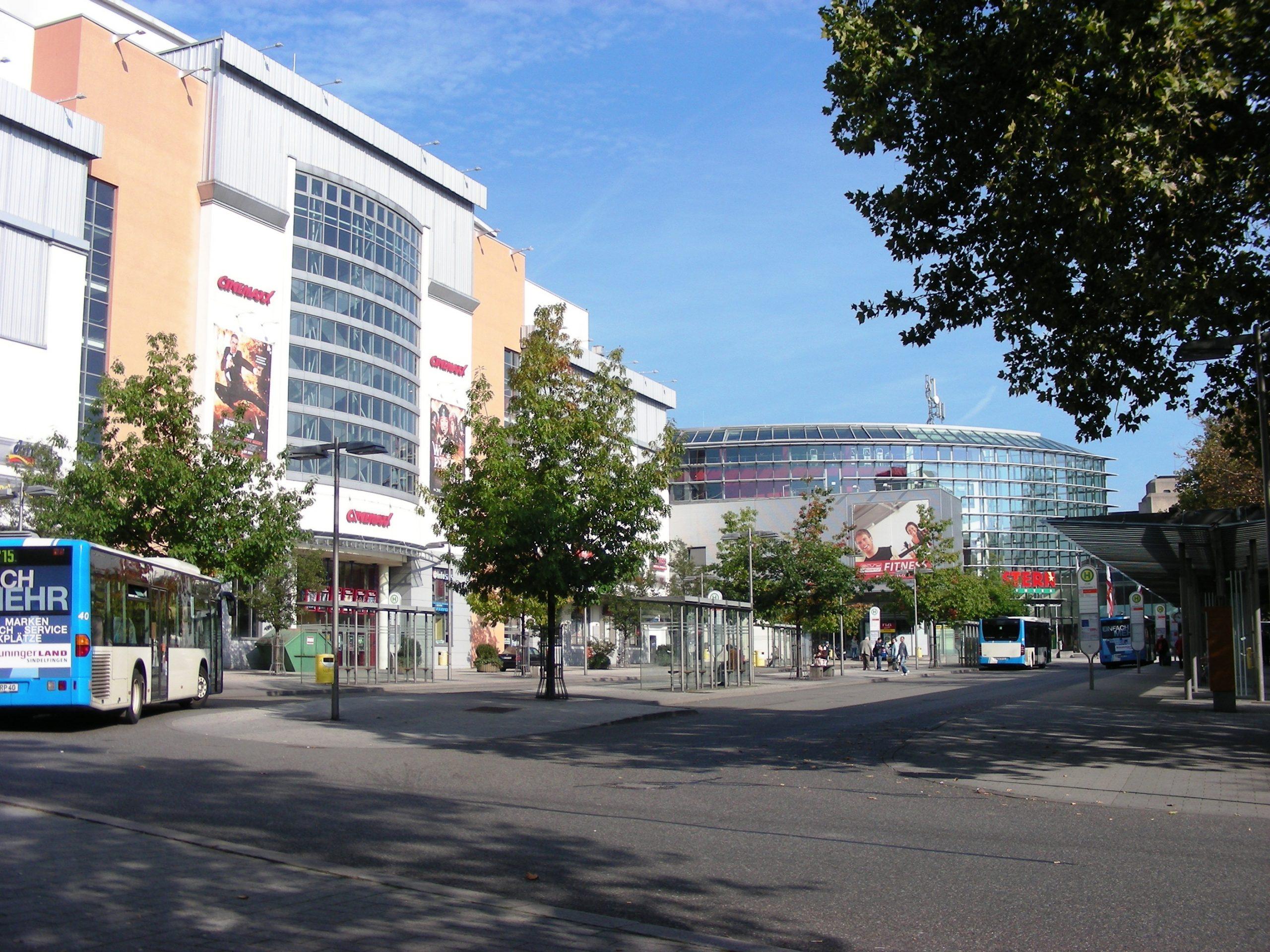 Busbahnhof und Sterncenter