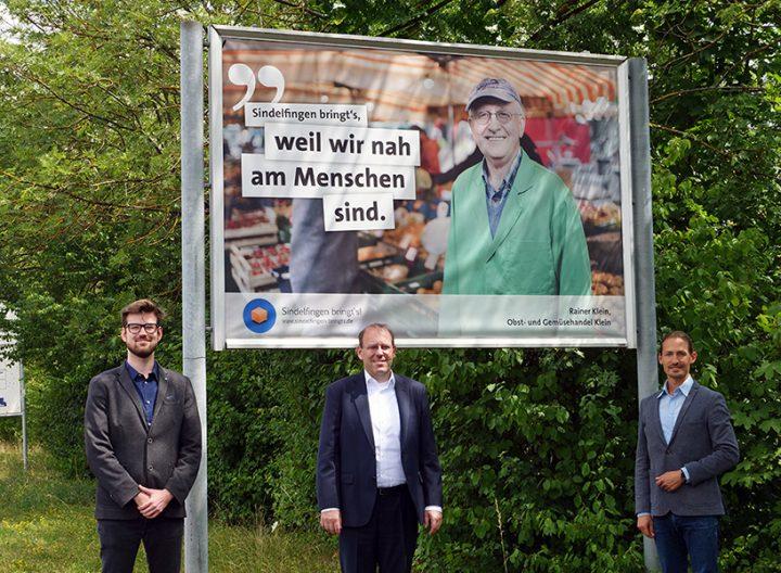 Sindelfingen bringt's Plakatkampagne